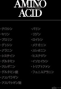 アミノ酸の詳細